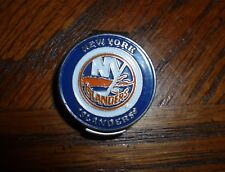 "New York Islanders NY 1"" Golf Ball Marker 2 Sided & hat clip ~ NHL Licensed"