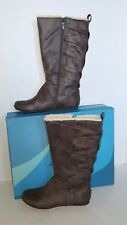 Cliffs by White Mountain Chelby Fleece Boot - Women's Size 7.5 M, Stone NWB $100