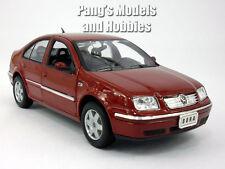 VW Volkswagen Jetta / Bora 2001 1/24 Scale Diecast Metal Model - Burgundy