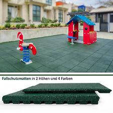 Floordirekt Fallschutzplatten Fallschutzmatten Gummimatten Bodenmatten Grün