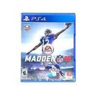 Madden NFL 16 (Sony PlayStation 4, 2015) PS4 **No Manual** Tested & Working