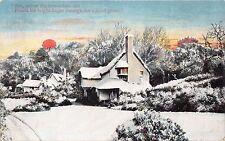 See Where New Arisen Sun Points His Bright Finger Through The Grove Uk Postcard