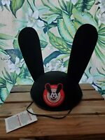 NWT RARE OSWALD THE LUCKY RABBIT MOUSE EARS HAT DISNEYLAND DISNEY RED EDITION
