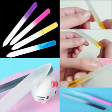 New Beauty Pro Tool Buffer Manicure Device Crystal Glass File Nail Art Files