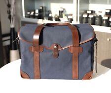 Barber Shop Medium Messenger Blue Bag