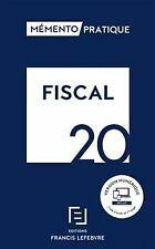 MEMENTO FISCAL 2020 de Collectif | Livre | état très bon