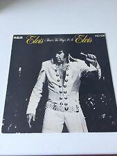 ELVIS PRESLEY - 1971 Vinyl 33rpm LP - THATS THE WAY IT IS