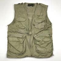 Vintage Colpro Ltd. Authentic Kenyan Safari Hunting Fishing Vest Mens Small