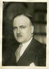 """""""Mr GIGNOUX Sous-secrétaire d'Etat 1931"""" Photo originale G. DEVRED / Agce ROL"""