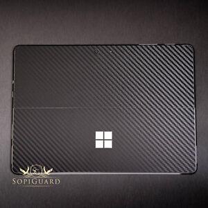 SopiGuard 3M Avery Carbon Fiber Vinyl Skin Sticker For Microsoft Surface Go 2