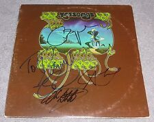 YES BAND SIGNED YESSONGS RECORD ALBUM x3 LP CHRIS SQUIRE WAKEMAN HOWE WHITE
