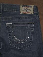True Religion Size 29 Skinny Light Blue Stretch Denim Womens Jeans