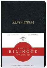 Bilingual Spanish English Bible Biblia Bilingue Rvr 1960/KJV Imit Leather Index