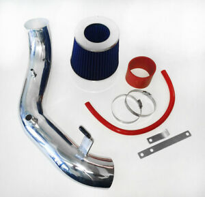 RED BLUE For 2002-2006 Acura RSX Type-S Coupe 2.0L L4 Air Intake System + Filter