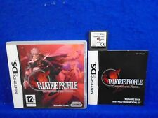 ds VALKYRIE PROFILE Covenant Of The Plume  RPG Game Lite 3DS Nintendo PAL