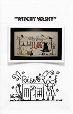 Witchy Washy by Raise the Roof cross stitch pattern