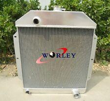 3 row For 1949-1953 Ford V8 Cars Aluminum Radiator 1950 1951 1952 49 53
