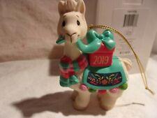 2019 Precious Moments I Llove You Llots Llama Ornament 191009