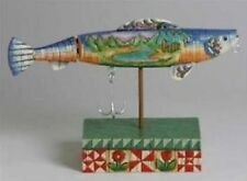"Jim Shore ""The Lure Of The Great Outdoors"" Fish Figurine"