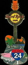 Hard Rock Cafe Los Angeles 2006 24th Anniversary Pin 24 Year Guitar - Hrc #35008