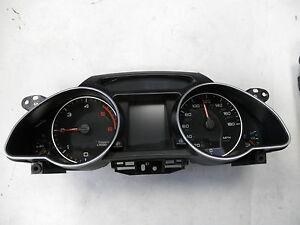 Tacho Kombiinstrument MMI FIS mph Audi A5 S5 8T 8F 8T0920980M TDI Cluster Speedo