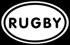 Rugby Sticker Sports Decal Football Soccer Car Window