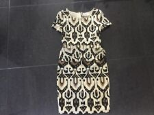Alice Temperley New & Genuine Ladies UK Size 8 Short Sleeved Peplum Dress