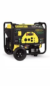 Champion 76533 3800 Watt Electric Start Dual Fuel Portable Generator