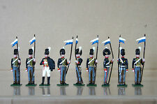 TRADITION NAPOLEONIC CONGREVE ROCKET KINGS TROOP SOLDIERS at ATTENTION og