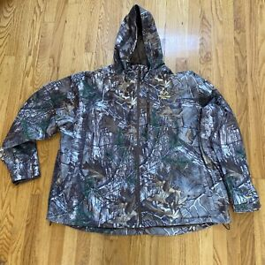 RealTree Xtra Camo Scent Factor Jacket w/ Hood - Mesh Lined 3XL  WJ619 NWOT