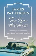 Two from the Heart by James Patterson (2017, Hardcover) Ex-Library VG 1st ed/1st