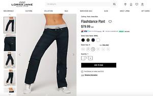 Lorna Jane Flashdance Pants Navy Size Small