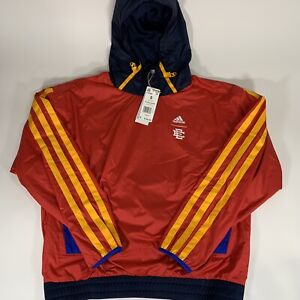 NWT Adidas x Eric Emanuel McDonald's Hoodie Red Men's Size Small H16556