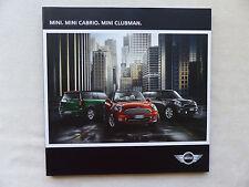 Mini Designmodelle - Mini Cabrio Clubman - Prospekt Brochure 03.2013