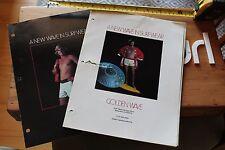 Golden Wave David Nuuhiwa Dyno Surfboard 1970s Catalog Price List 4pc. Press Kit