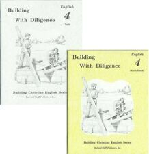 Rod and Staff English grade 4 worksheets and tests set