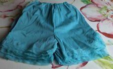 Vintage Nwot Cassie Lace Inset Bloomer Split Leg Pantie Underwear Jr Sz 9/10