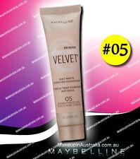 Maybelline Dream Velvet Soft-Matte Hydrating Foundation 05 WARM PORCELAIN Makeup