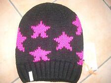 (M21) Grobstrick Mütze FREAKY HEADS Beanie Wintermütze Little Stars mit Logo
