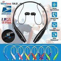 Wireless Headset Sport Stereo Headphone Earbud Waterproof For iPhone Samsung