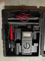 VINTAGE Fluke 27/FM Digital Multimeter 80K-6 HV Probe with Case, Read Desc!