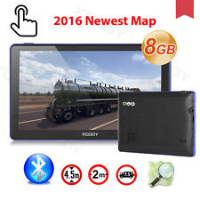 Xgody 7'' 8gb Car GPS Navigation Av-in Screen Bluetooth 256mb AU Map SAT NAV