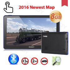XGODY 7'' 8GB Car GPS Navigation AV-IN Screen Bluetooth 256MB AU MAP SAT NAV