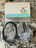 Nintendo Switch Animal Crossing Charging Dock + AC Adapter + HDMI OEM Set