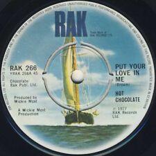 Love 45 RPM Speed 1970s Vinyl Records