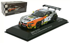 Minichamps BMW Z4 GT3 'TDS Racing' #24 24H Spa 2013 - 1/43 Scale