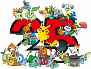 Pokemon - 25th Anniversary -  First Partner Pack -  English - Preorder - Select
