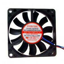 Evercool EC7015M12CA 70mm x 15mm CPU Cooling Slim Fan 12v Medium Speed 3 pin