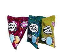 Lot Of 3 Moj Moj Squishy Toys Series 1-2 Soft  Characters Randomly selected