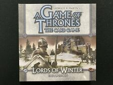 A Game of Thrones The Card Game Lords of Winter Expansion Box - Factory Sealed